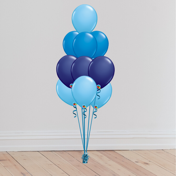 10 Latex Balloon Bouquet (Inflated with Helium & Weight Included) | Presentimes
