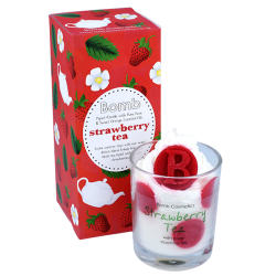 Strawberry Tea Piped Candle | Presentimes
