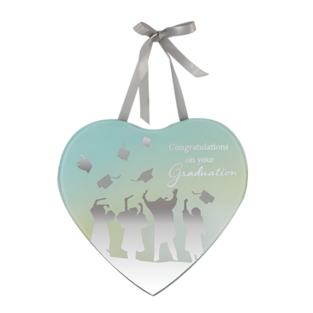 **MULTI 6**Reflections Of The Heart Mirror Plaque Graduation | Presentimes