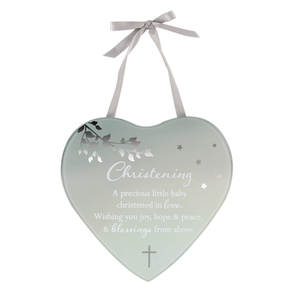 **MULTI 6**Reflections Of The Heart Mirror Plq Christening | Presentimes