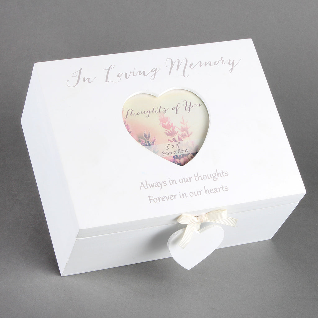 Thoughts Of You MDF Memory Box | Presentimes