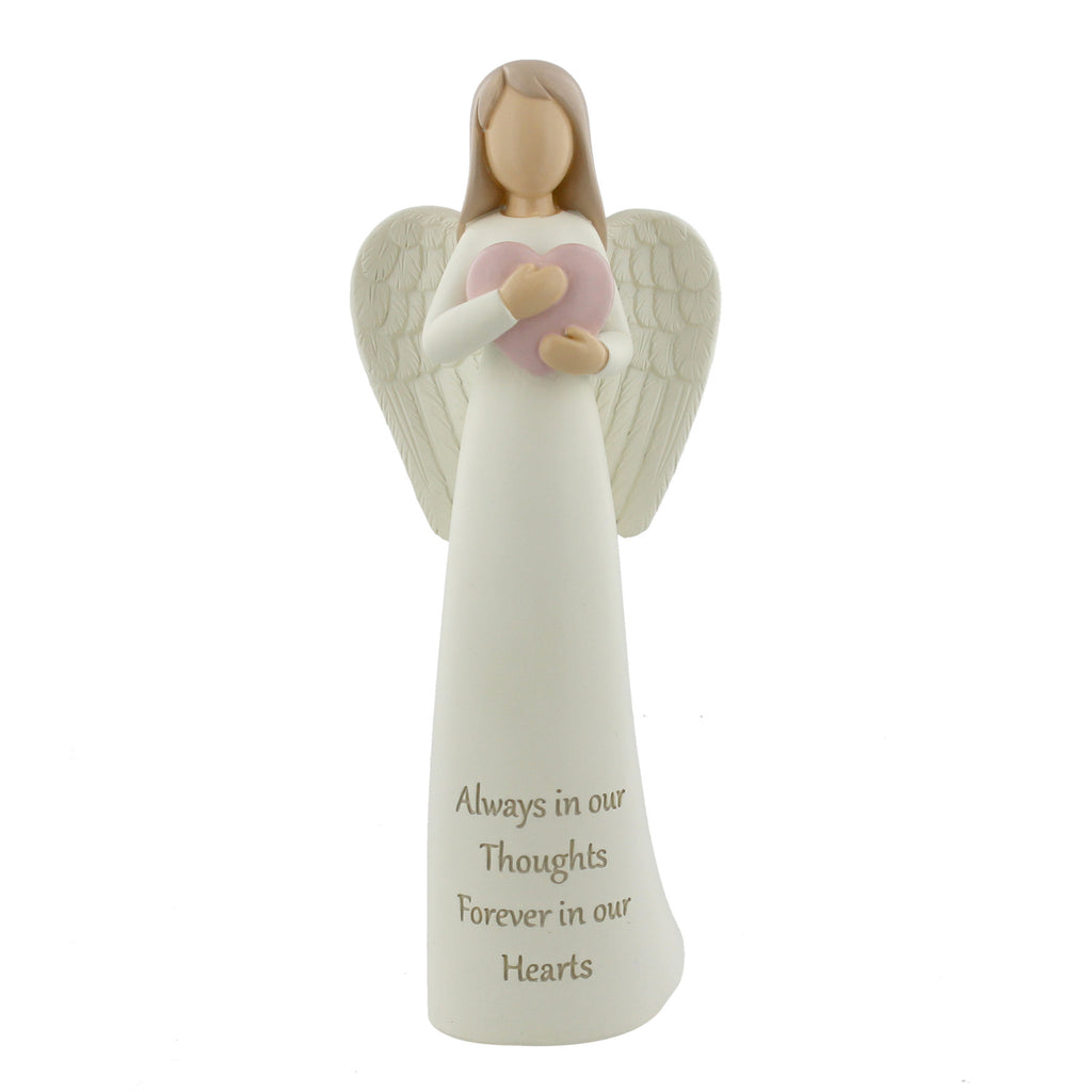 Thoughts Of You Angel Figurine - Always In Our Hearts | Presentimes