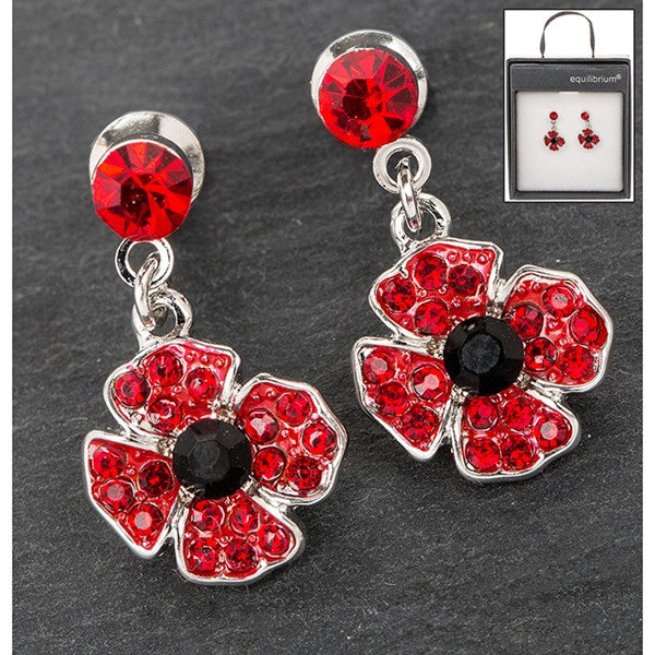 EQ DANGLY POPPY EARRINGS | Presentimes
