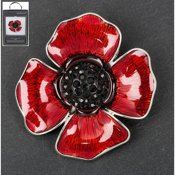 EQ DELICATE POPPY BROOCH | Presentimes