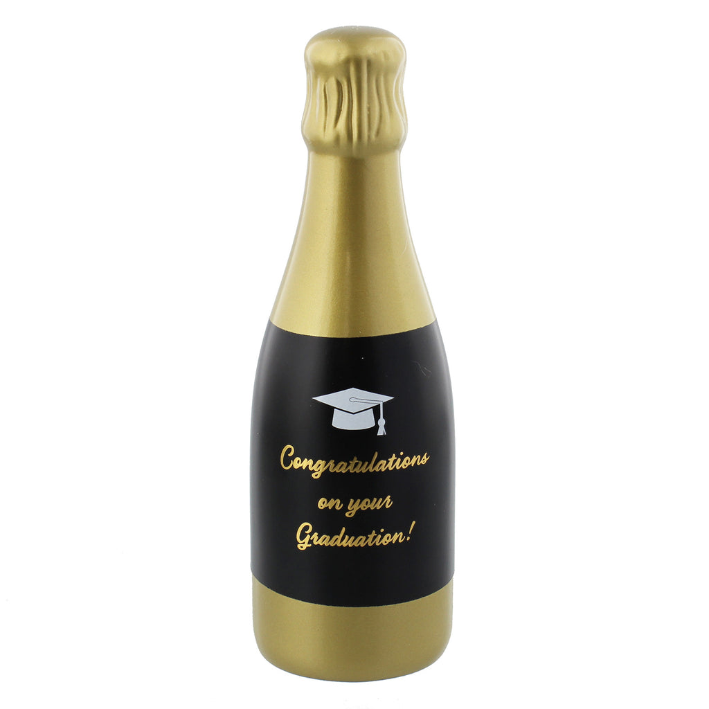 Graduation Champagne Bottle Money Box | Presentimes