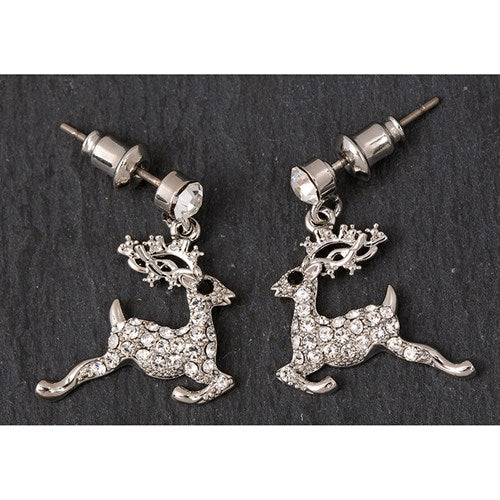 Eq Leaping Reindeer Earrings | Presentimes
