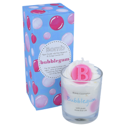 Bubblegum Piped Candle | Presentimes