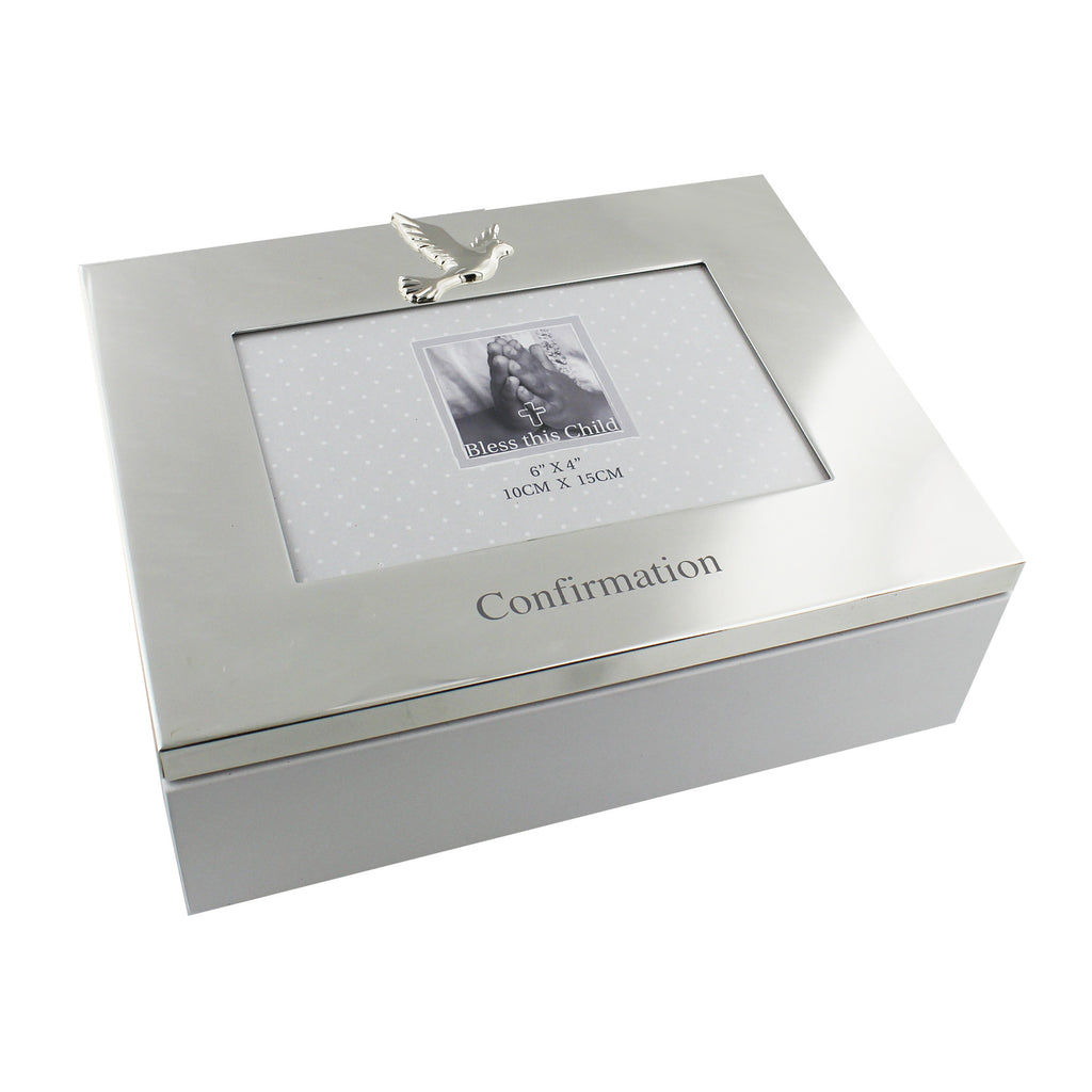 Juliana Keepsake Box & Frame Lid - Confirmation | Presentimes