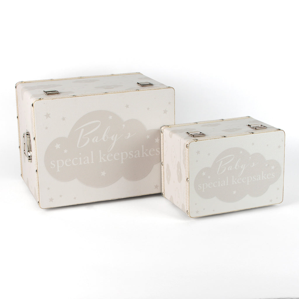 Bambino Set of 2 Luggage Boxes - Baby Special Keepsakes | Presentimes