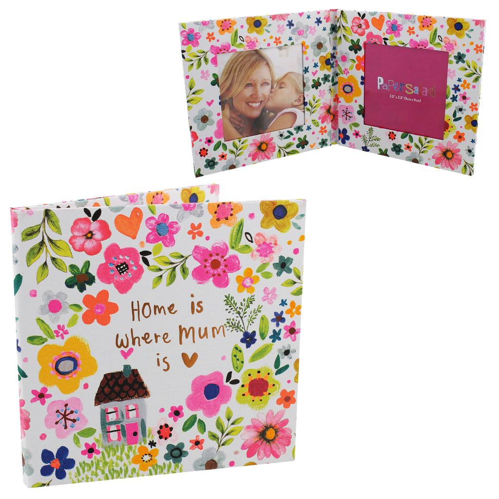 Paper Salad Paperwrap Double Frame - Home Is Where Mum Is | Presentimes