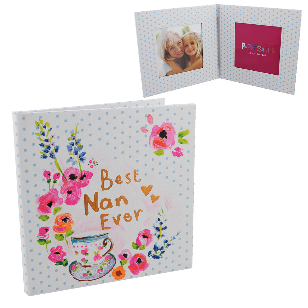 Paper Salad Paperwrap Double Frame - Best Nan Ever | Presentimes