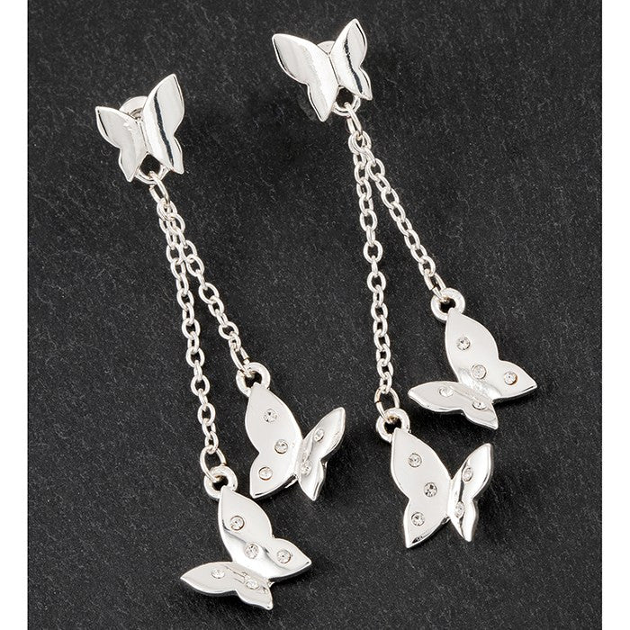 EQ SP DELICATE BFLIES EARRINGS | Presentimes