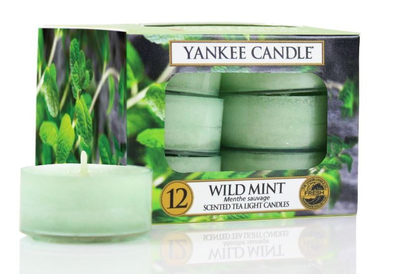 CLASSIC TEA LIGHTS WILD MINT | Presentimes