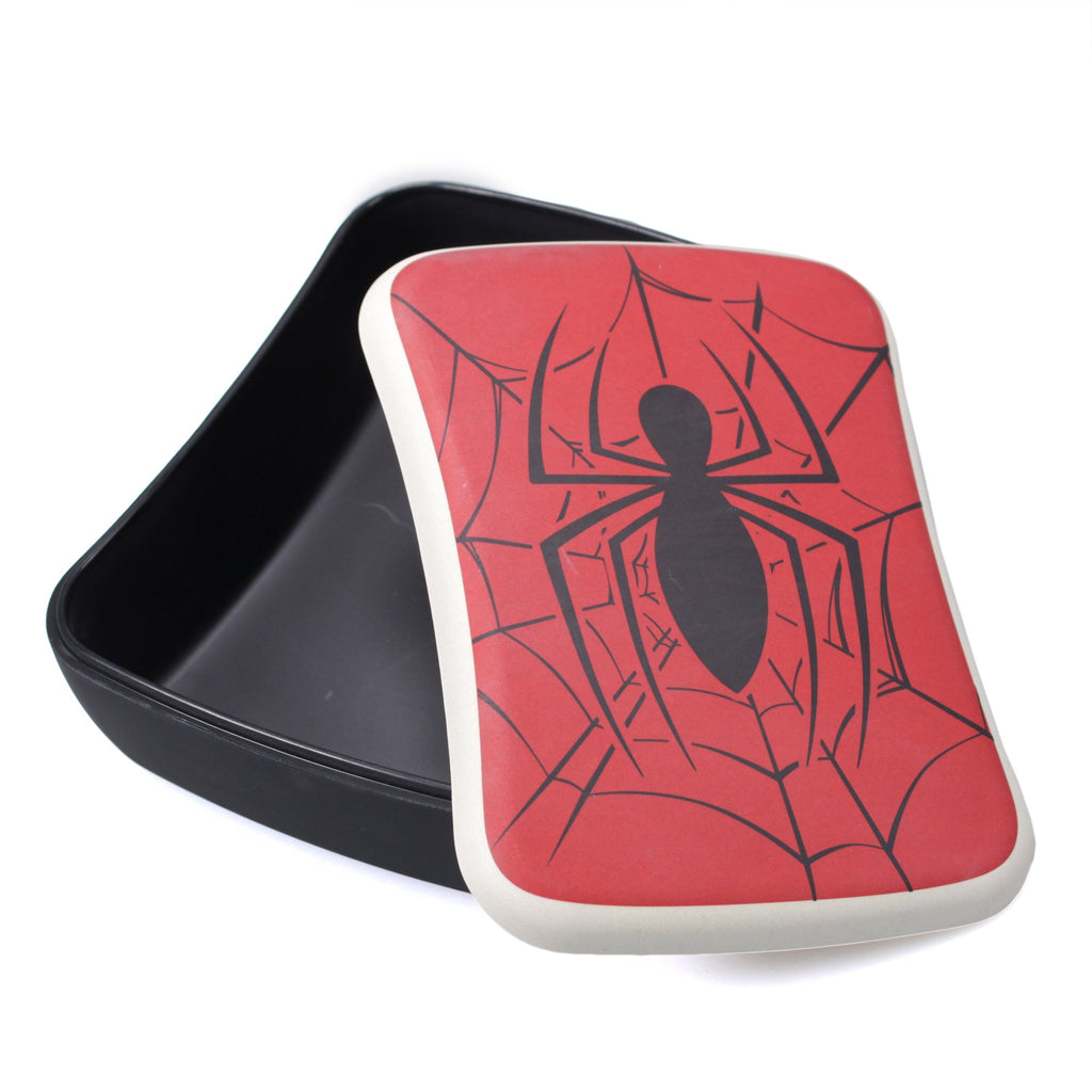 Spider-Man Bamboo Lunch Box - Web | Presentimes