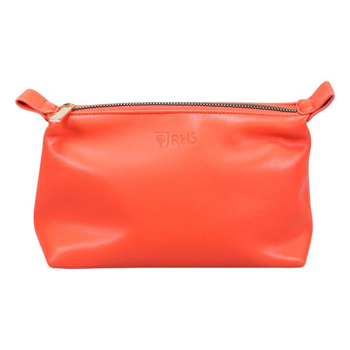 RHS Make Up Bag - Plain Coral | Presentimes