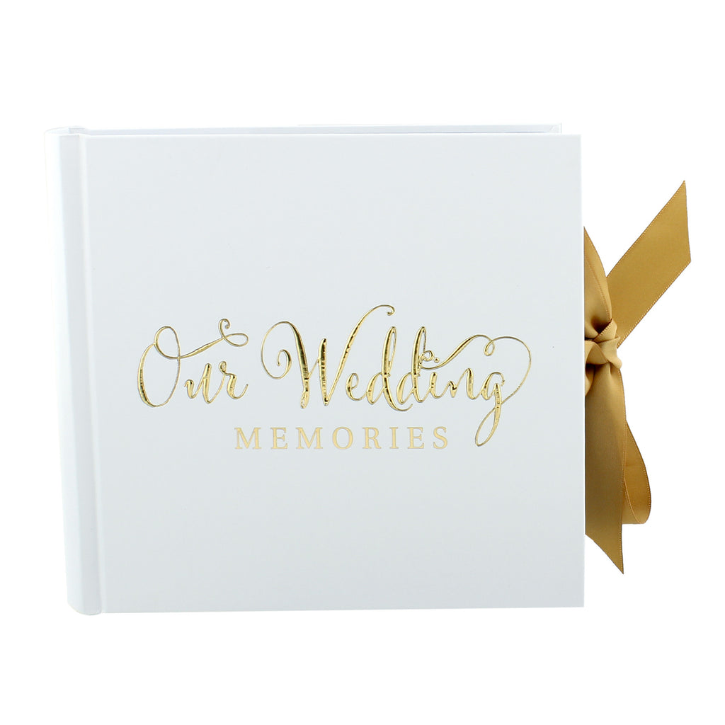 "Always & Forever' Gold Foil ""Our Wedding"" Album 4"" x 6"" 