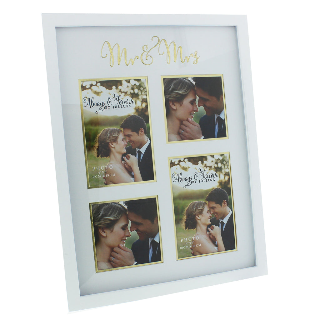 Always & Forever MDF Collage Frame with Gold Words | Presentimes