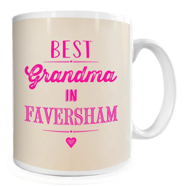 Best Grandma in Faversham Mug | Presentimes