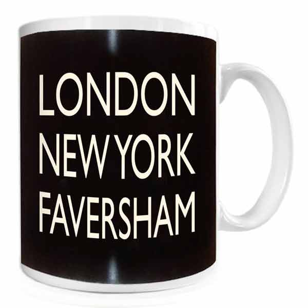 London, New York, Faversham Mug | Presentimes