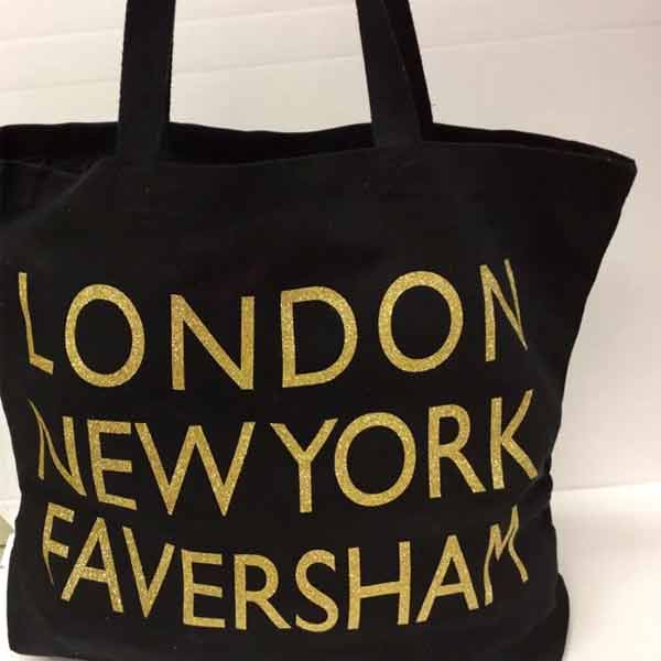 London, New York, Faversham Canvas Tote Bag | Presentimes