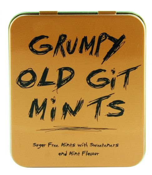 Grumpy Old Git Sugar Free Mints 45g | Presentimes