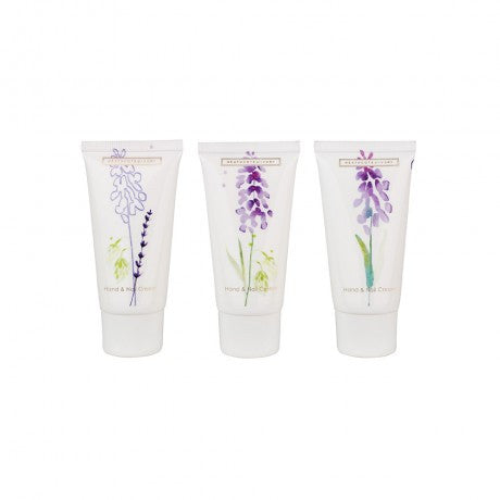 Lavender Fields Hand & Nail Cream Collection (3 x 30ml Hand & Nail Cream) | Presentimes