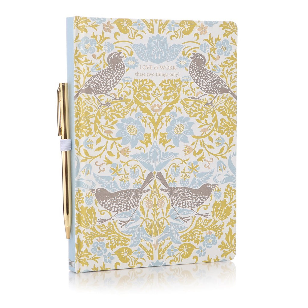 William Morris Address Book and Pen | Presentimes