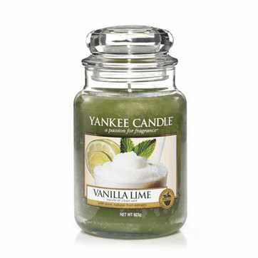 Classic Vanilla Lime Large Jar | Presentimes