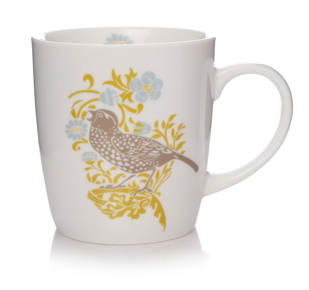 William Morris Latte Mug Strawberry Thief | Presentimes