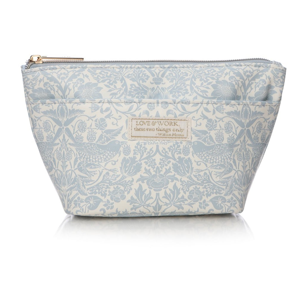 William Morris Strawberry Thief Cosmetic Bag | Presentimes