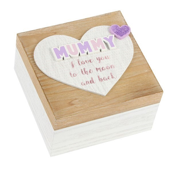 "Lasting Memories' MDF Keepsake Box ""Mummy"" 