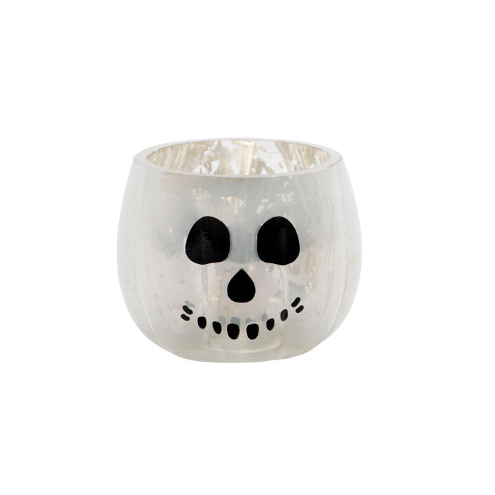 Halloween Skull Yankee Votive Holder | Presentimes