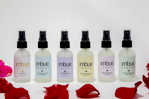 Rose Water Mists - The Full Set - Imbue Essential Oils