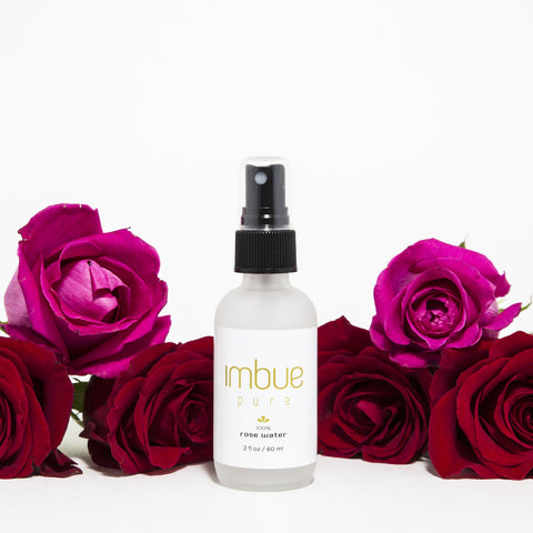 Pure Rose Water Mist - Imbue Essential Oils