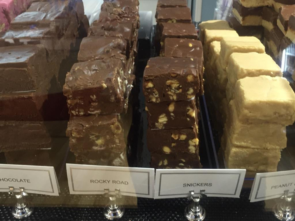 Fresh fudge made in-house