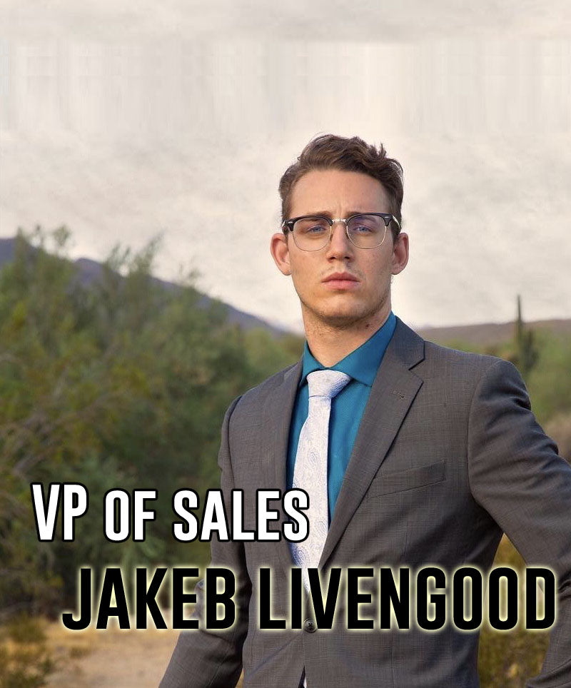 Introducing our VP of Sales, Jakeb Livengood!