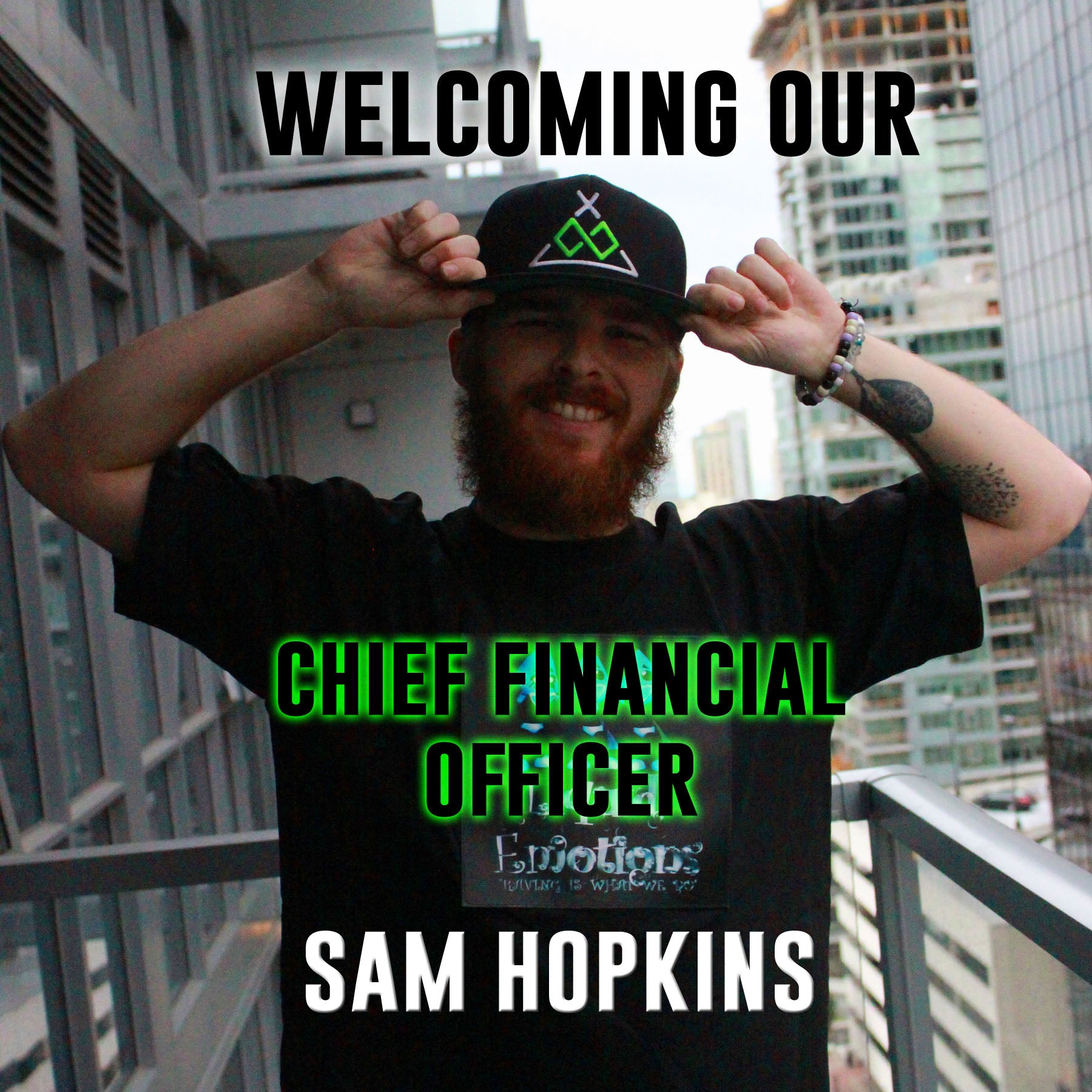 Sam Hopkins: Our Chief Financial Officer
