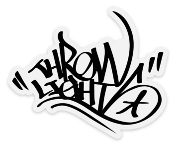 Throwlights Graff Logo Sticker