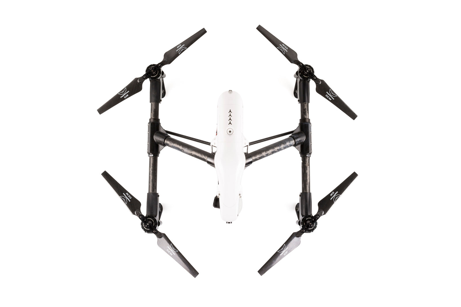 Carbon Fiber folding propellers for DJI Inspire 1/Matrice 100 drone
