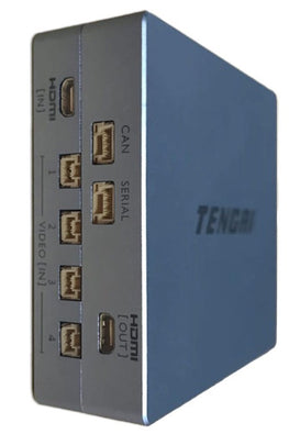 TENGRI Unmanned vehicle Hub computer (UvHc) (analog camera inputs)