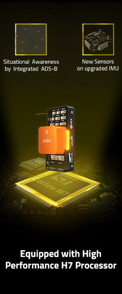 The Cube Orange Standard Set (ADS-B Carrier Board)