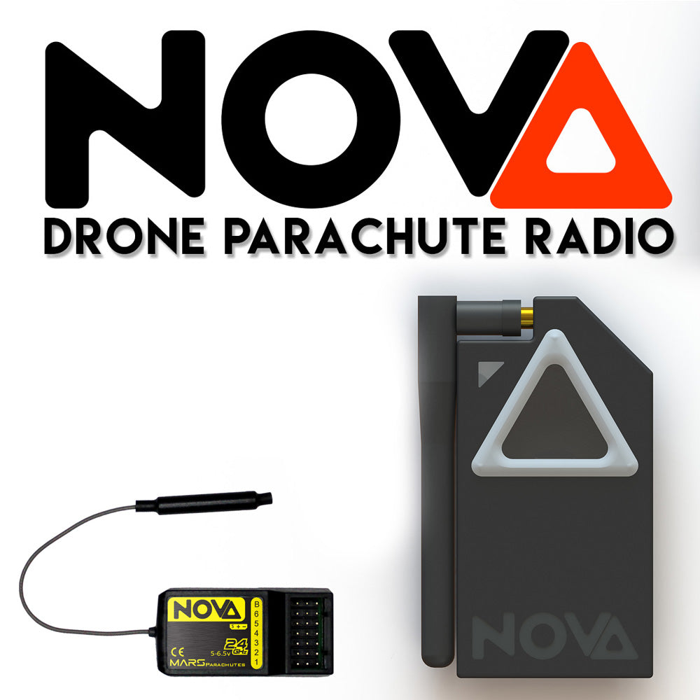 NOVA parachute and flight termination radio