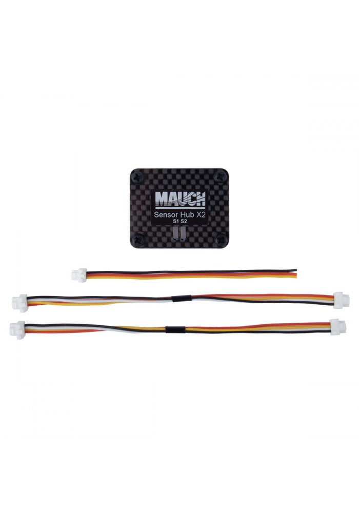 Mauch 010: PL Sensor Hub X2-V2 with CFK enclosure