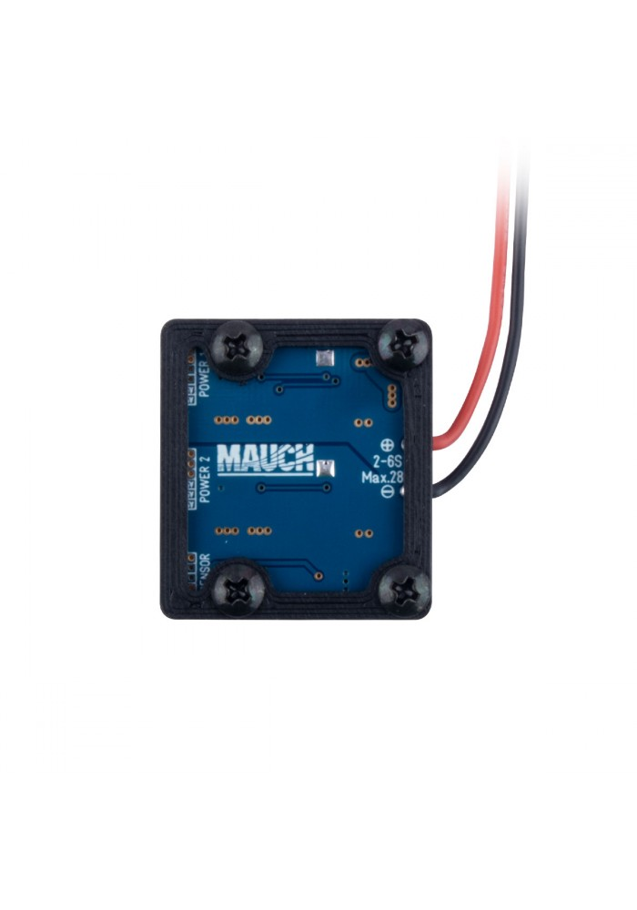 Mauch 016: PL 2-6S BEC 2x5.35V with CFK enclosure