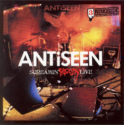 ANTiSEEN - 'Screamin' Bloody Live' Double LP