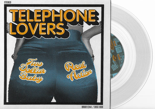TELEPHONE LOVERS Two Dollar Baby / Real Action 7