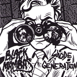BLACK MAMBAS / SUICIDE GENERATION - 'Split' 7