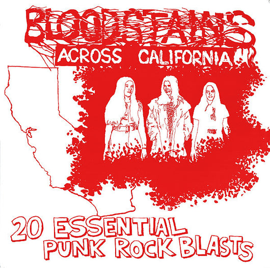 VARIOUS ARTISTS Bloodstains Across California LP