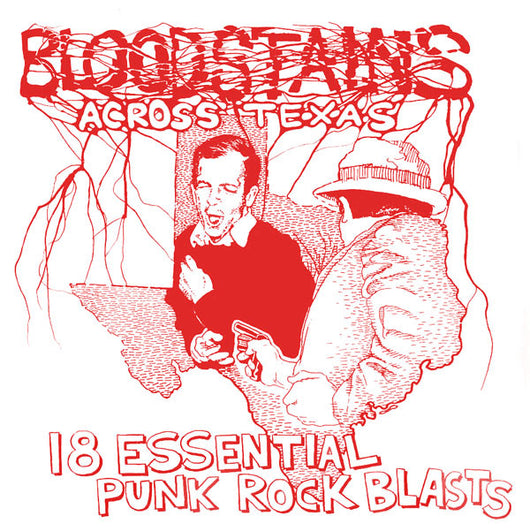 VARIOUS ARTISTS Bloodstains Across Texas LP