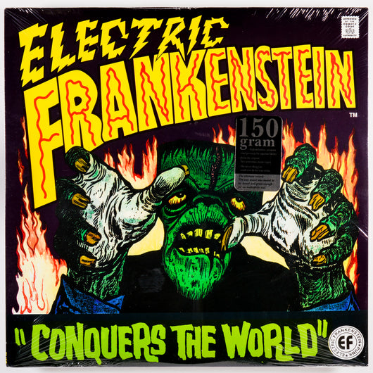 ELECTRIC FRANKENSTEIN Conquers The World LP